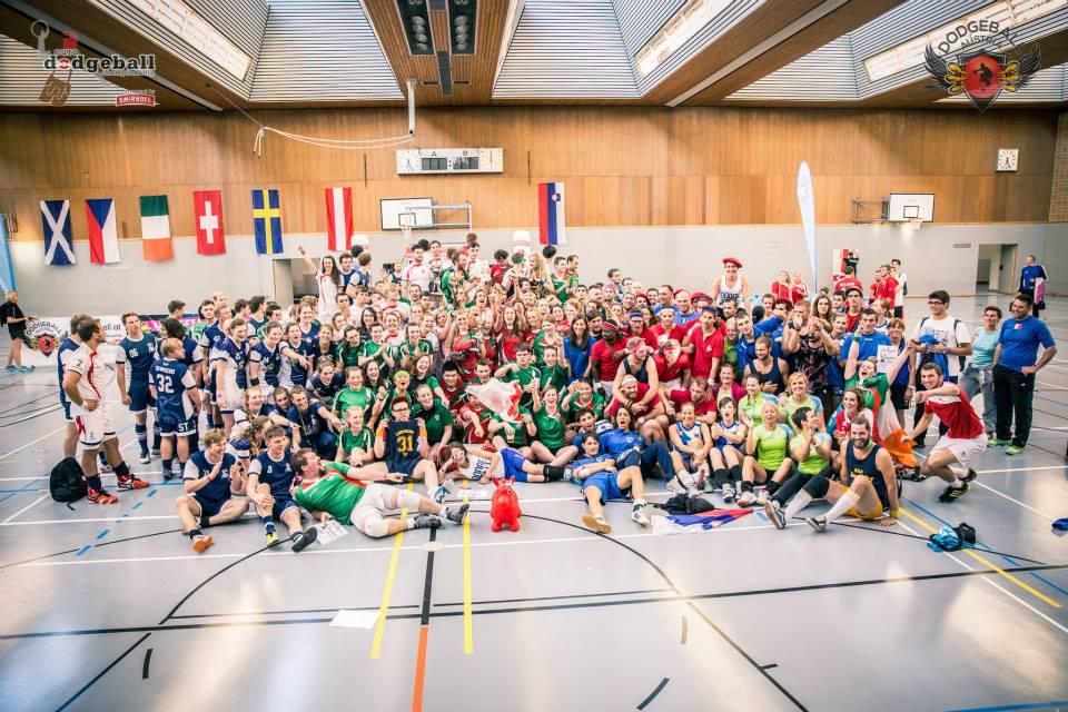 European Dodgeball Championship presented by Smirnoff - 22-24.Aug 2014, Sport University, Vienna