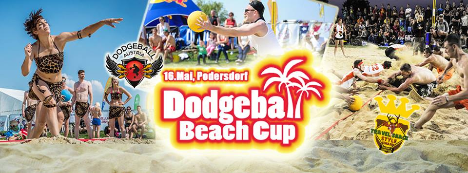 Invitation to our international dodgeball friends! We would love to see you in austria again - take part at the Dodgeball Beach Cup - 16th may! A weekend full of: dodgeball, sand, Bikinis/boardshorts, swimming, Camping, Partys, Cocktails, ... We are looking forward to see you! Teams from L.A., surrounding countries and ~ 70 austrian teams will come as well!